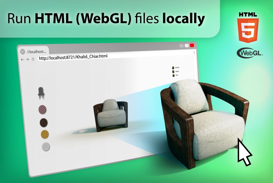 Run WebGL Locally