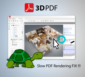 Slow 3D PDF