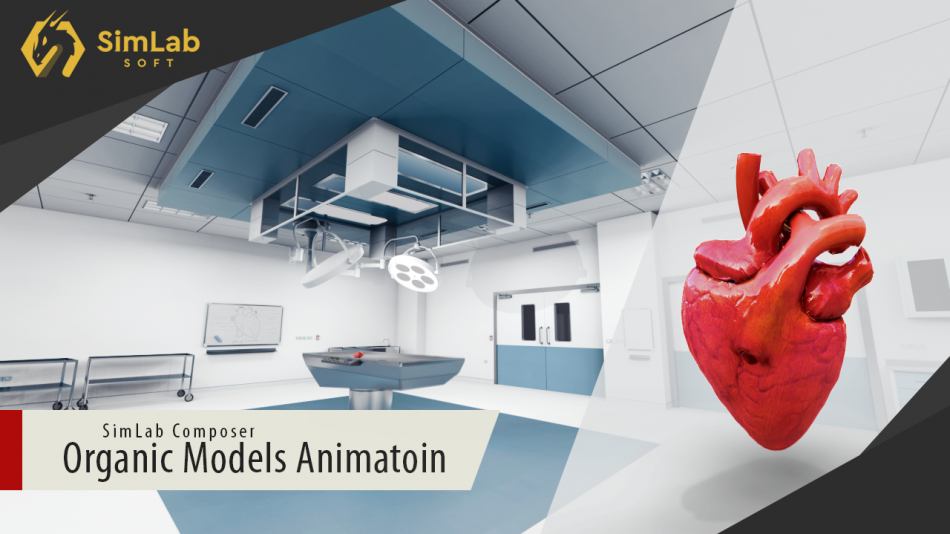 Organic Model Animation in SimLab Composer